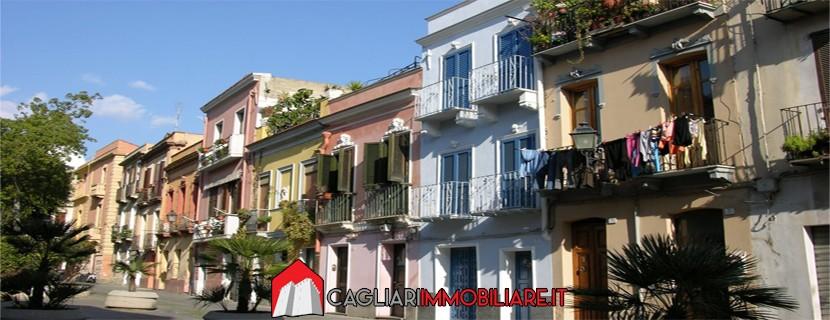 Il quartiere di Villanova a Cagliari