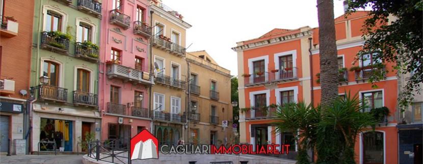 Il quartiere della Marina a Cagliari