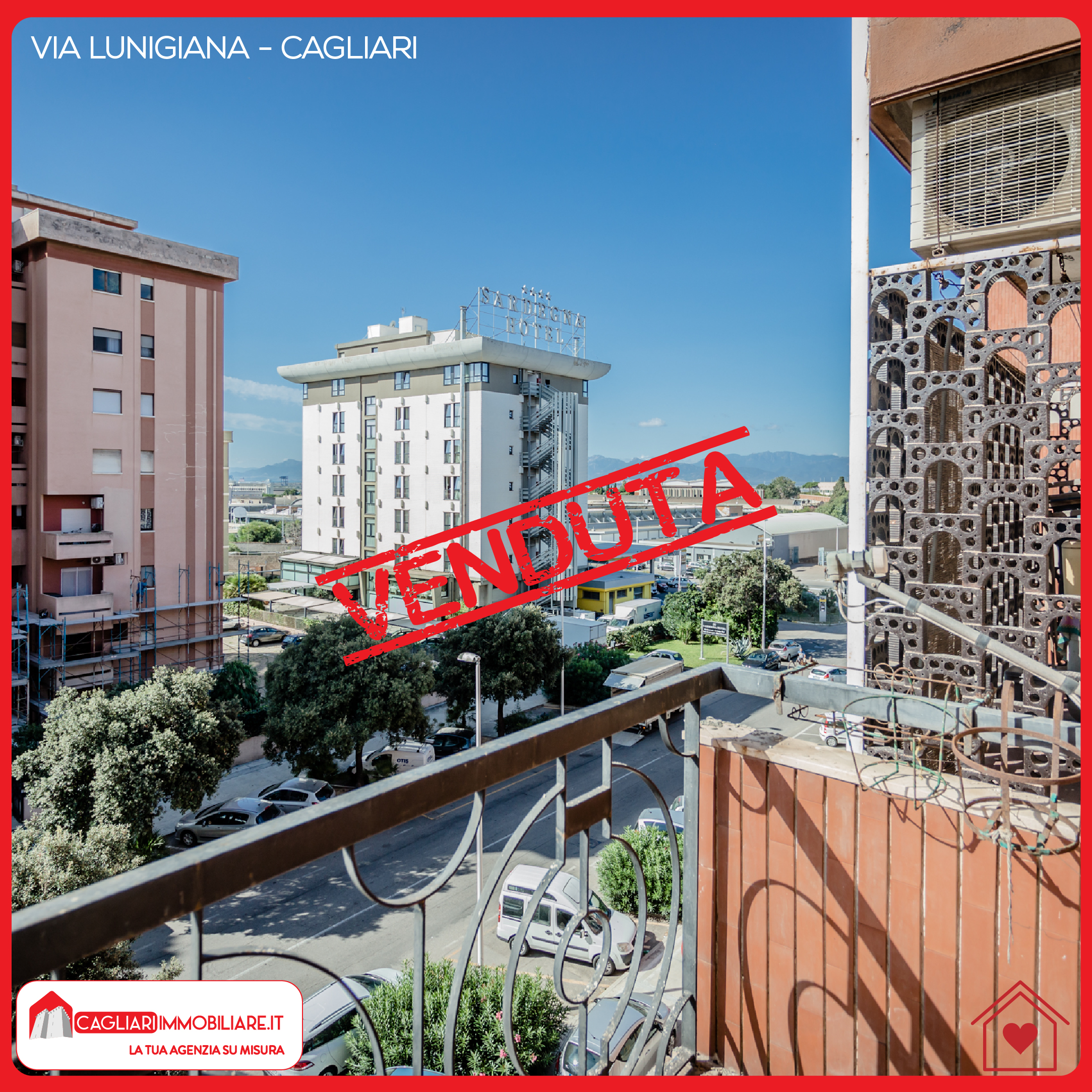 Ampio Trivano quarto piano con ascensore Via Lunigiana